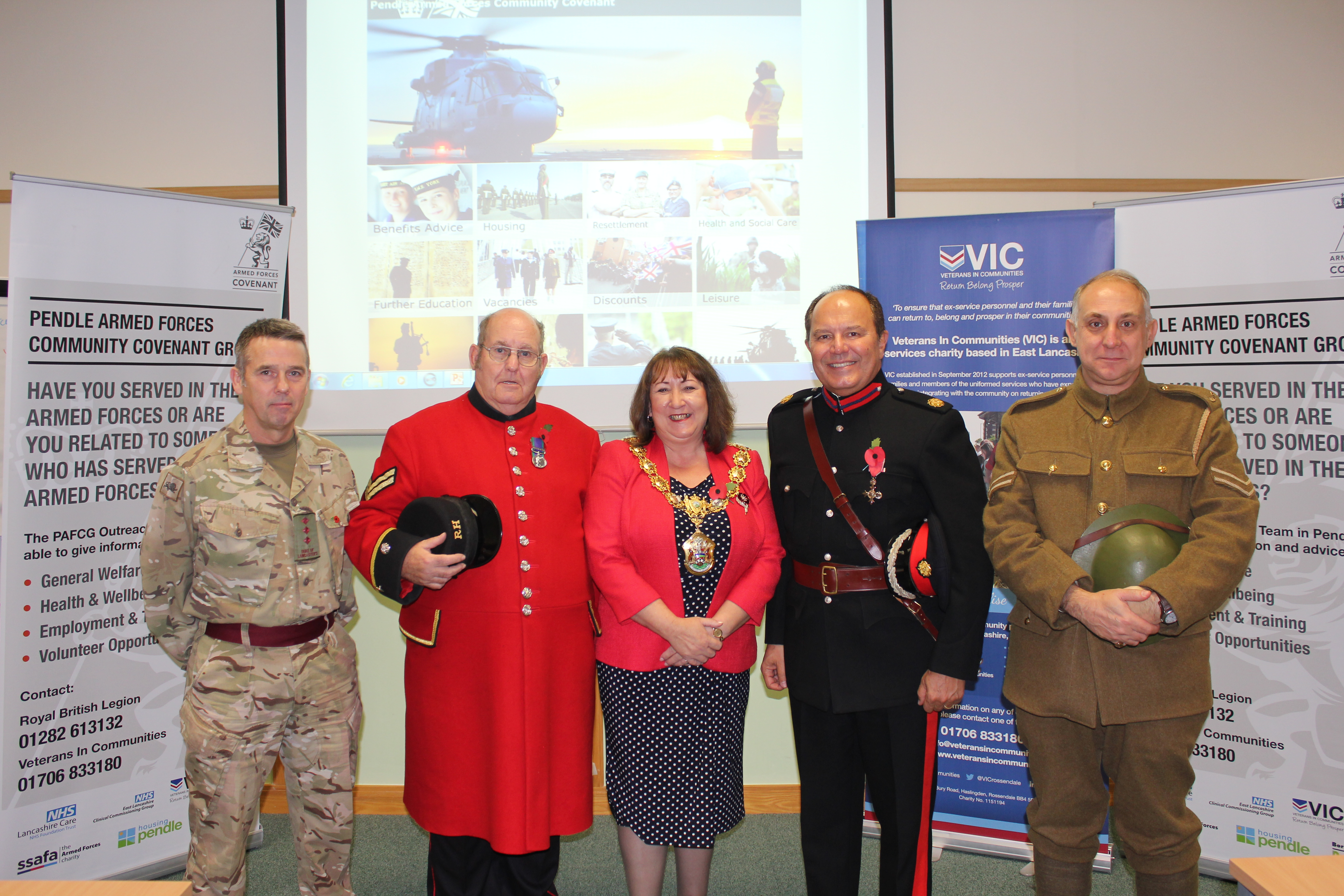 Pendle signs its pledge to the Armed Forces