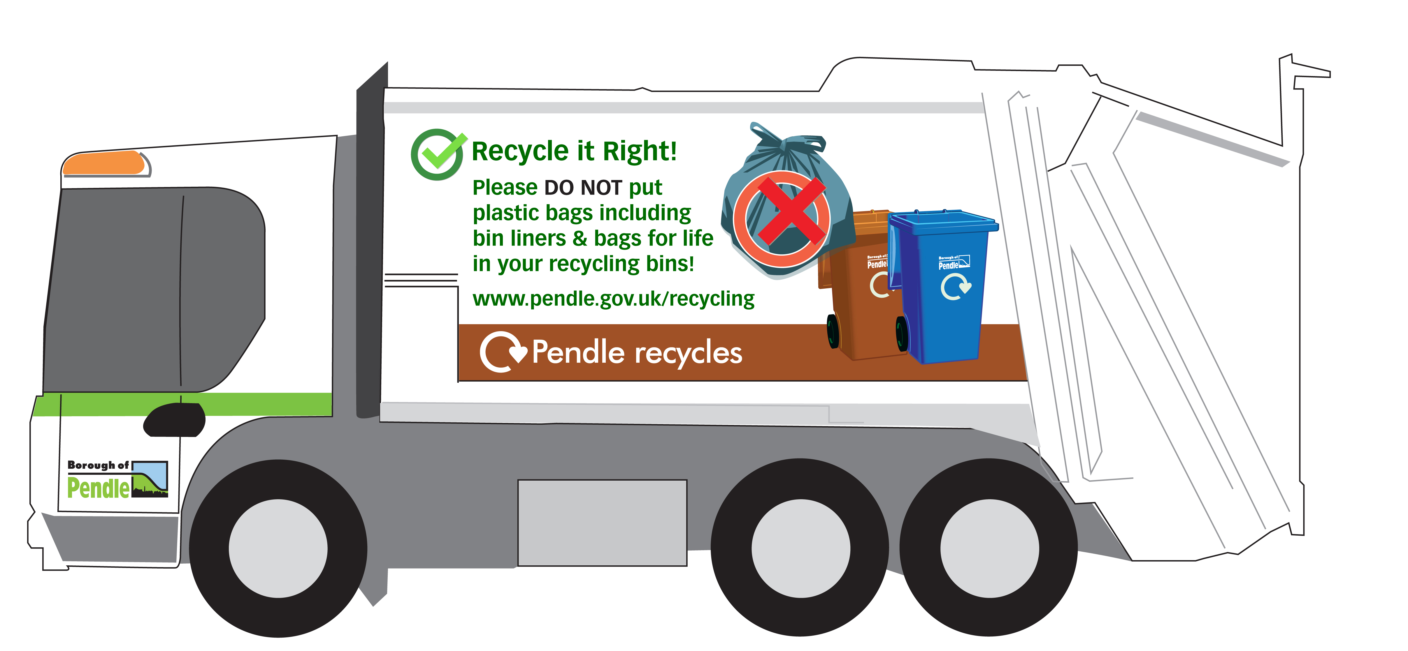 Recycle your plastics right!