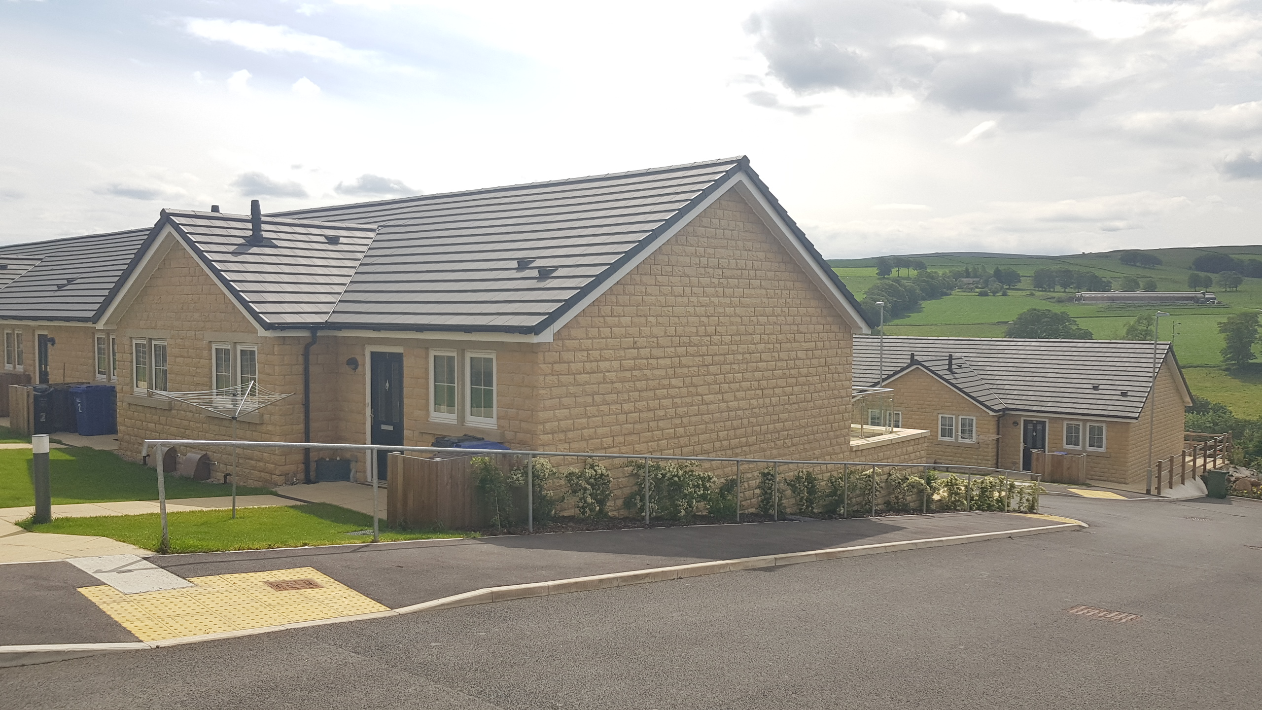 Millionaire's legacy leads to prestigious award for Colne housing development