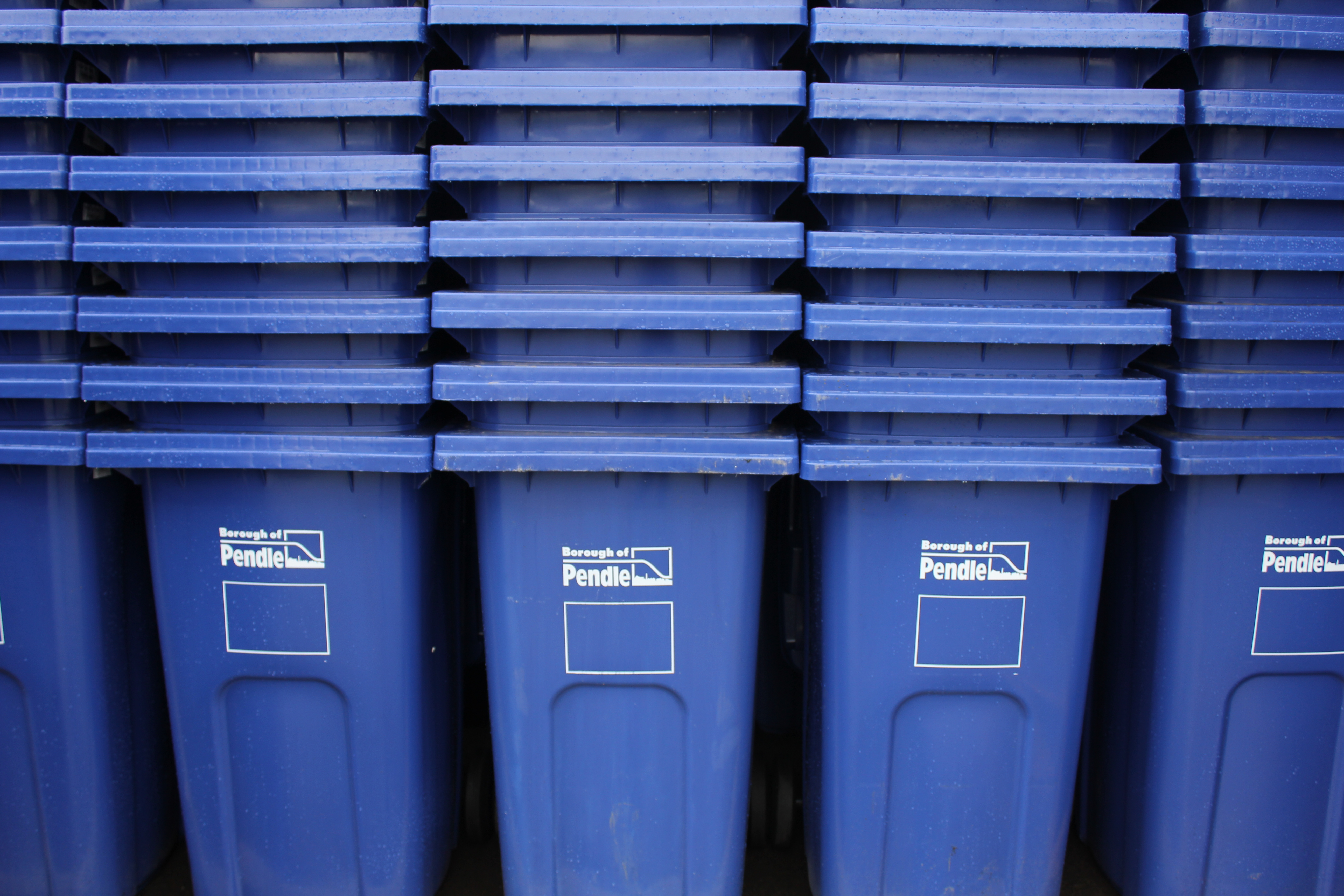 More blue bins for Pendle!