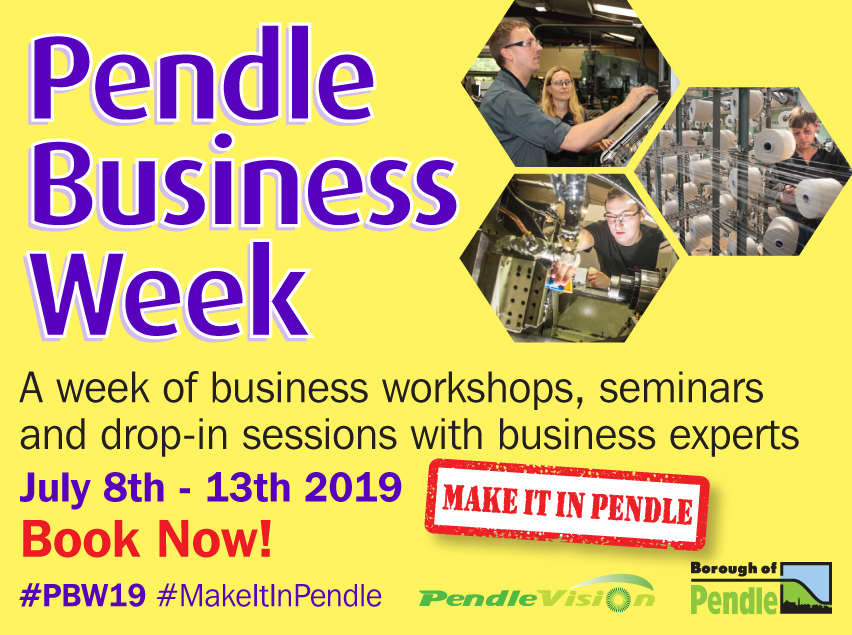 Coming soon - Pendle Business Week 2019