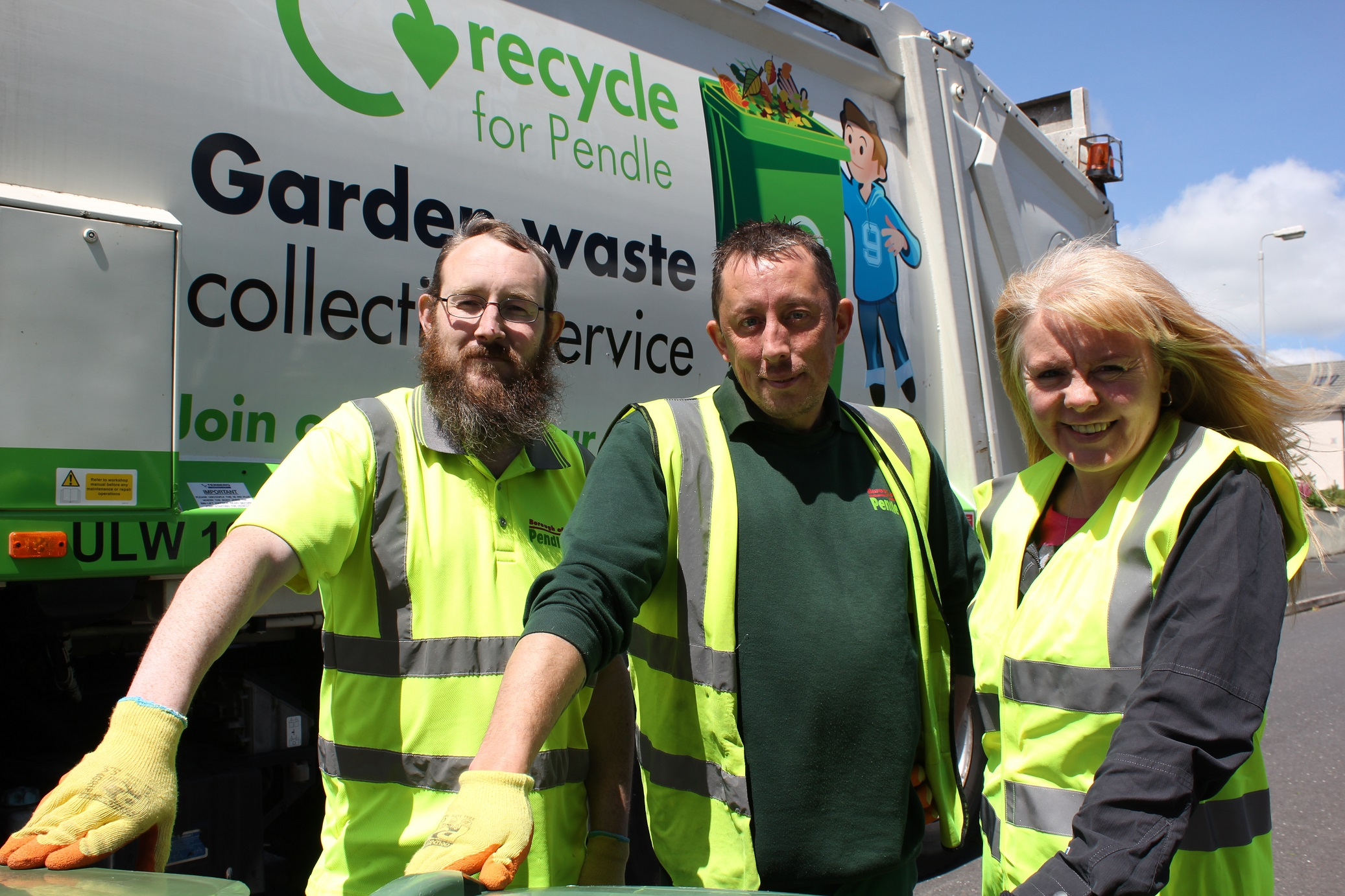 Garden waste collections spring into action in Pendle!