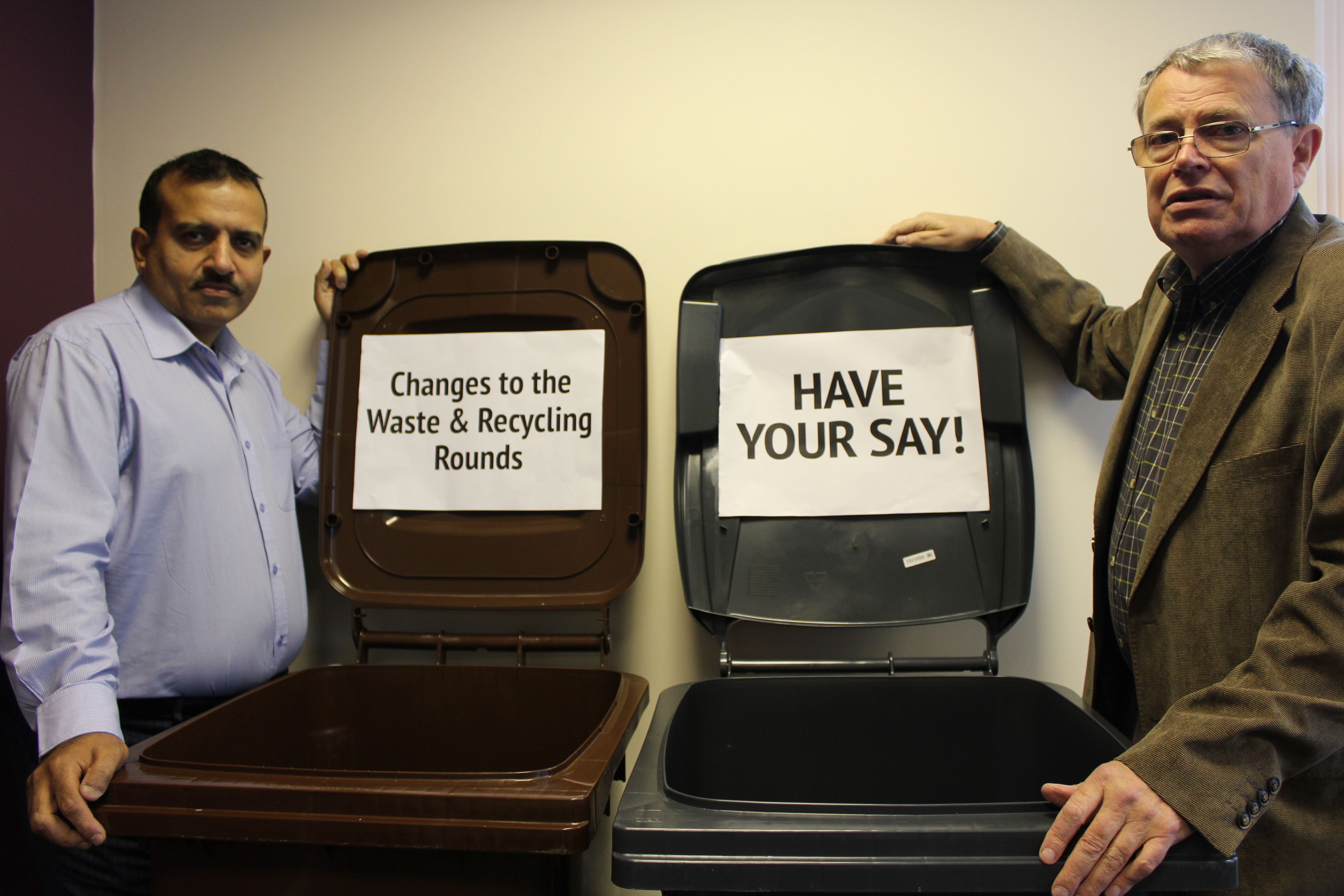 Have your say on changes to refuse and recycling collections!
