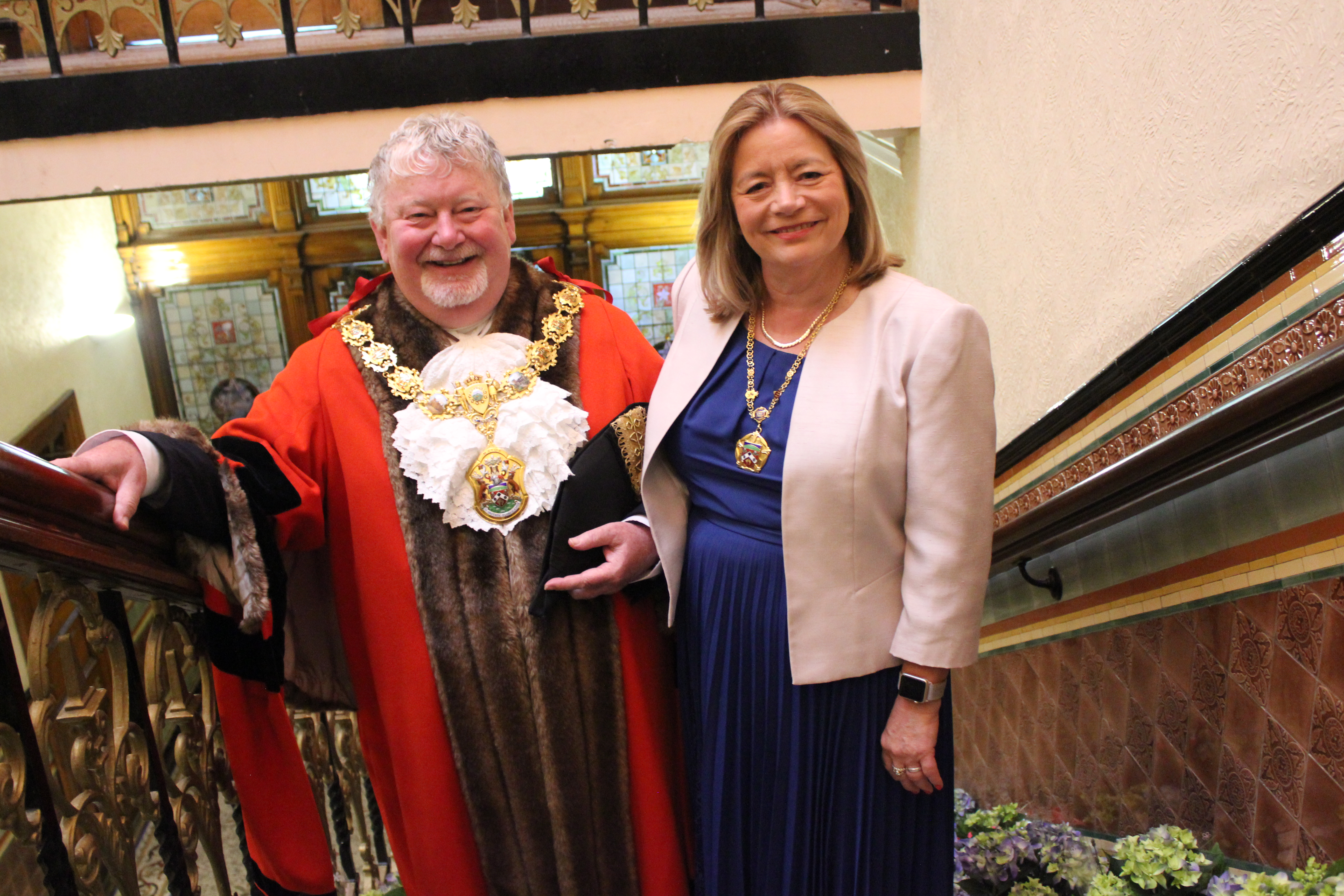 The Mayor of Pendle invites you to see inside Nelson Town Hall