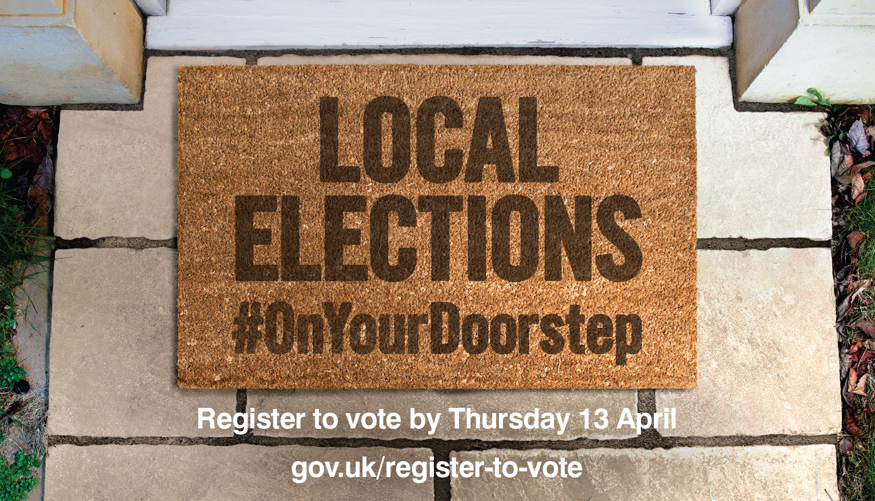 Make sure you're on the electoral register