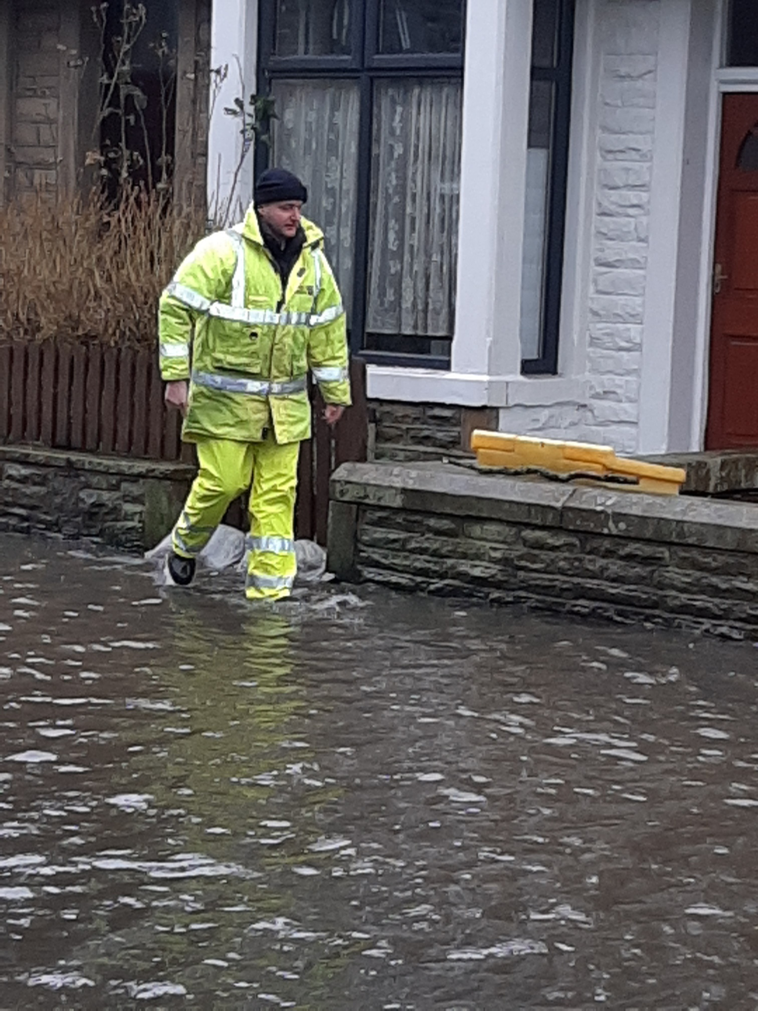Storms, heavy rain and flooding in Pendle
