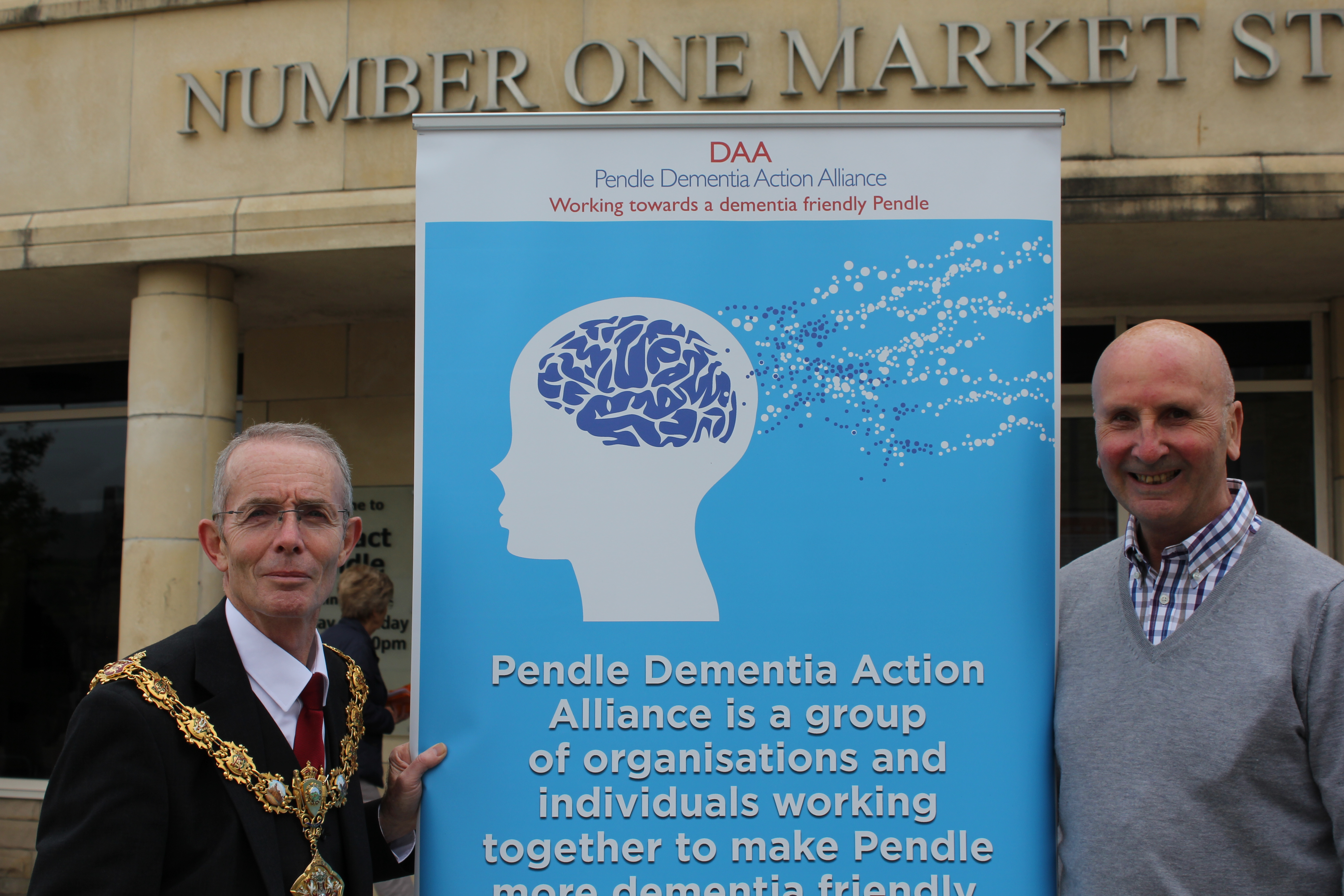 Dementia in Pendle – joining forces to offer support