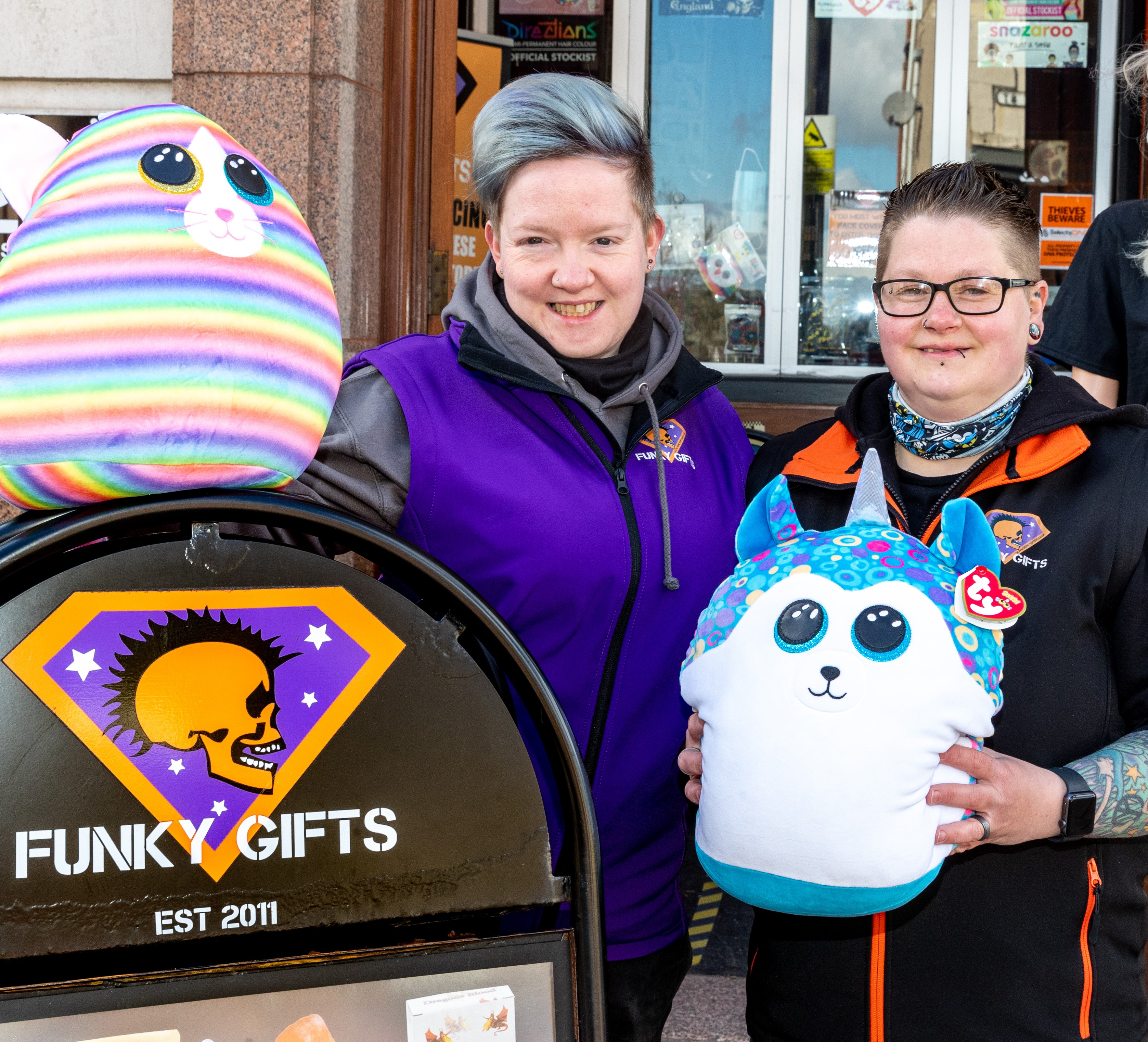 Funky Gifts to celebrate 10-year anniversary thanks to grant funding