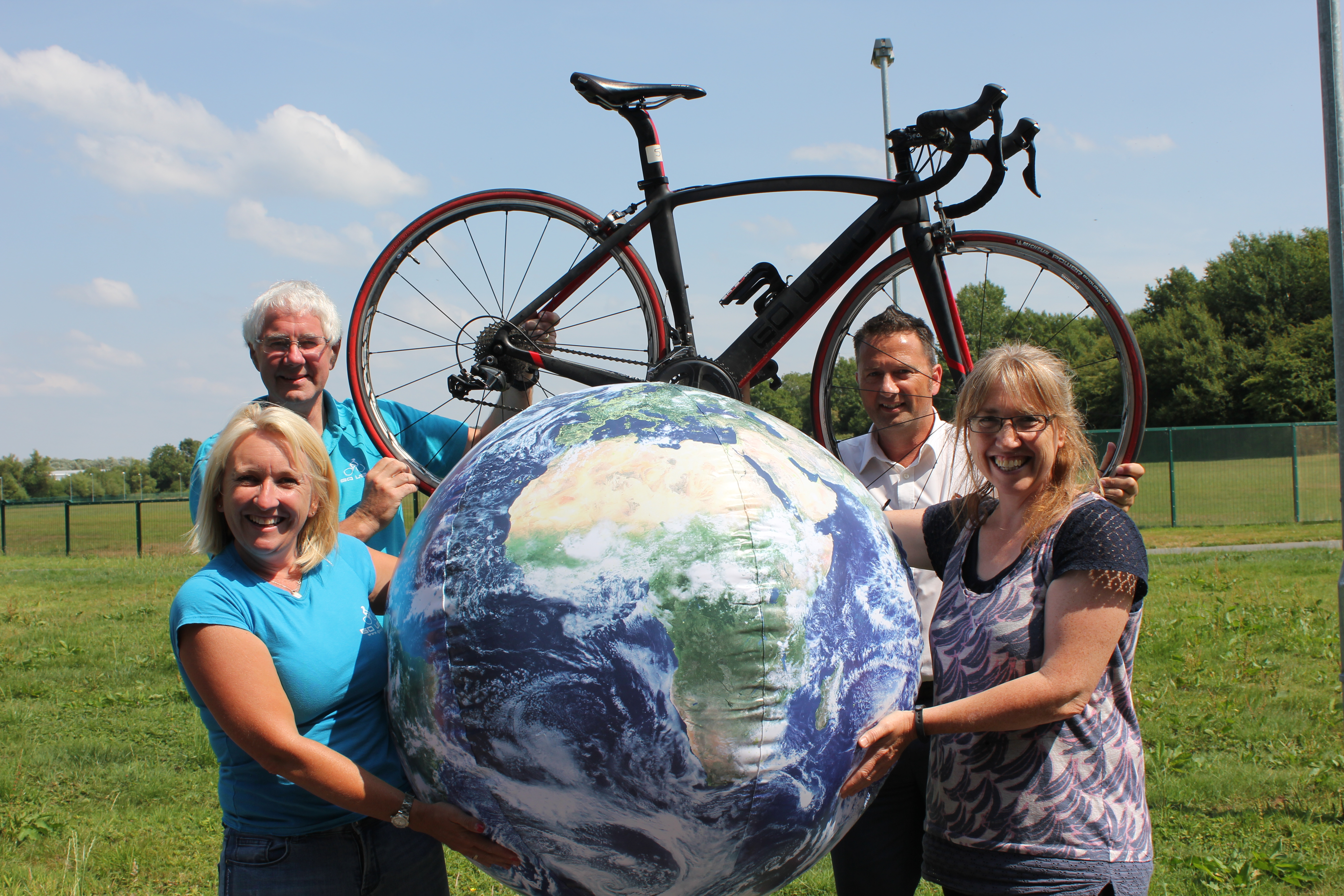 24 hour cycling raises thousands for Pendleside Hospice