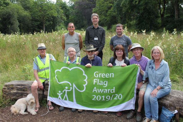 Green flag awards for Pendle's parks