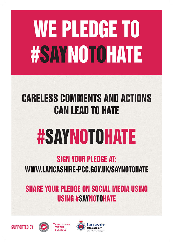 Pendle makes a stand against hate crime
