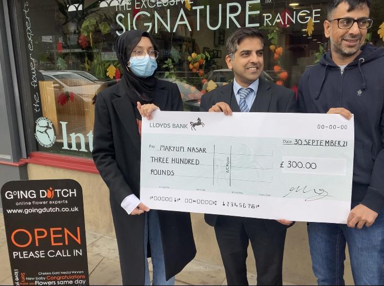 We Love Nelson Treasure Hunt winners net £600