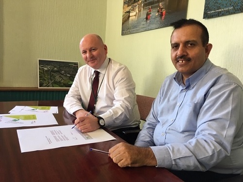 Pendle Council signs declaration to promote healthy weight
