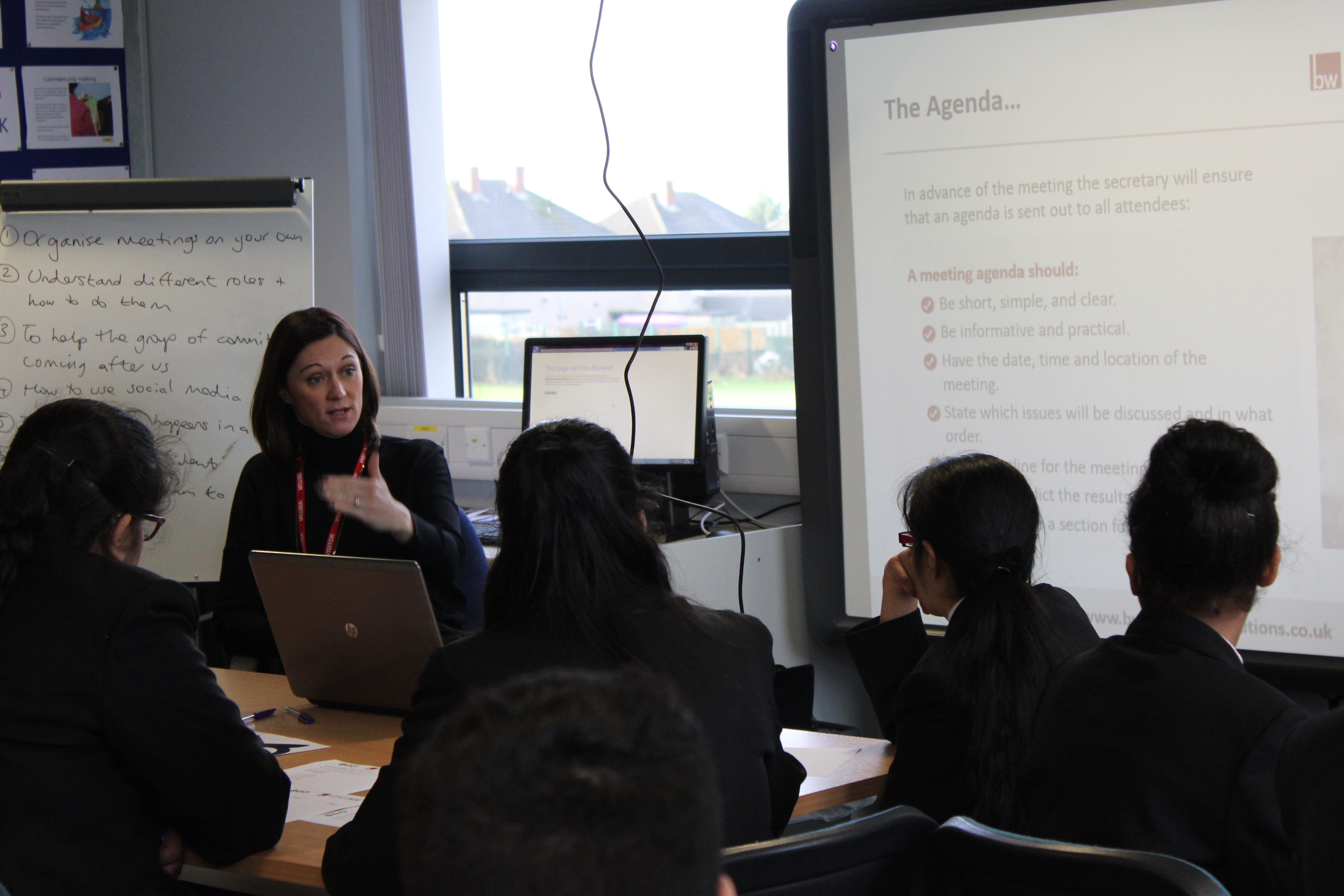 Marsden Heights students receive leadership training from Pendle business