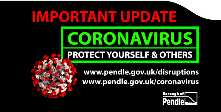 Action in Pendle to stop the spread of coronavirus