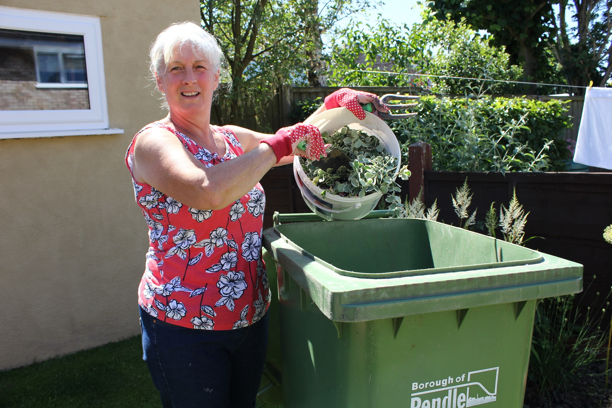 Don't forget to sign up for garden waste collections!