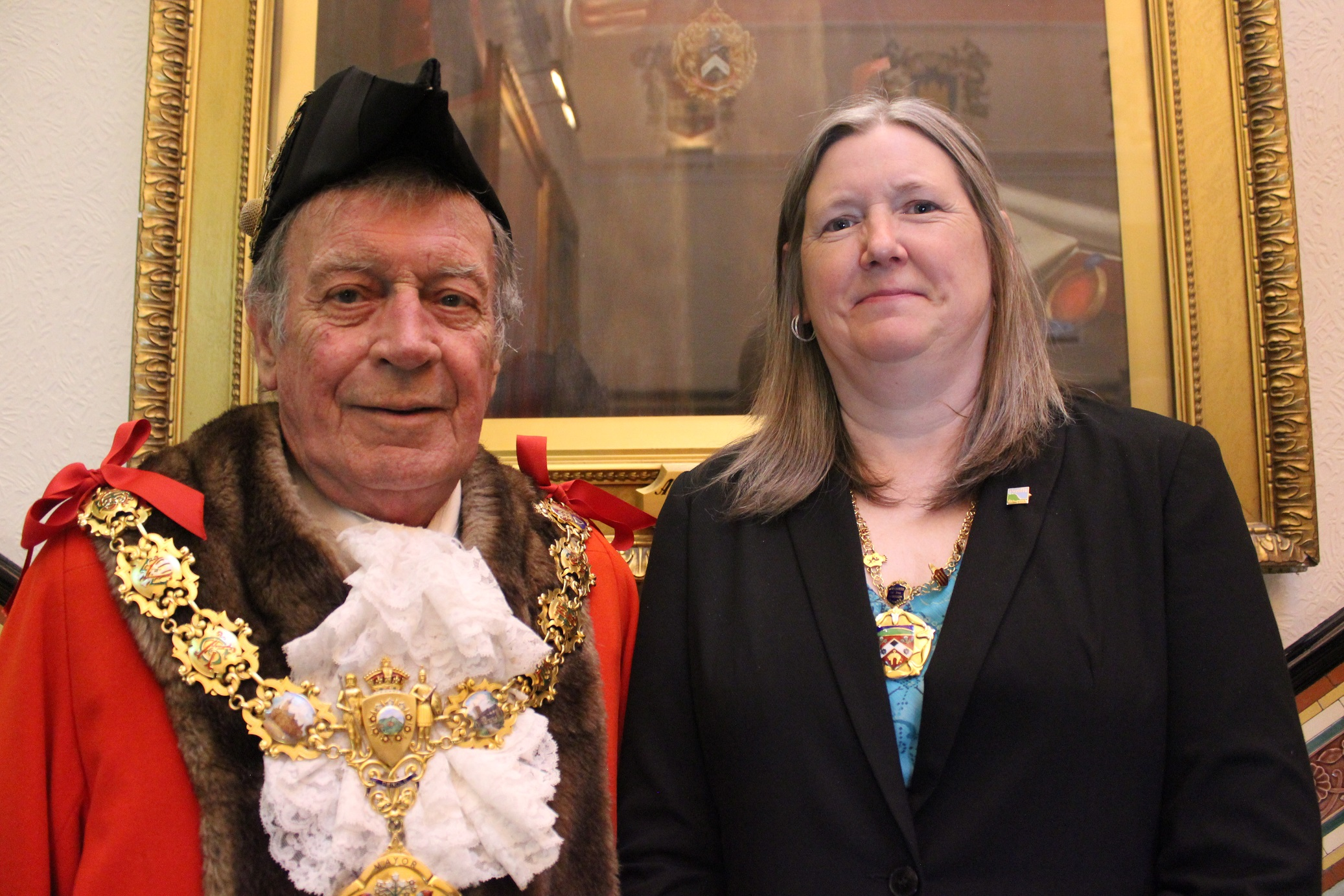 A new Mayor and Mayoress for Pendle