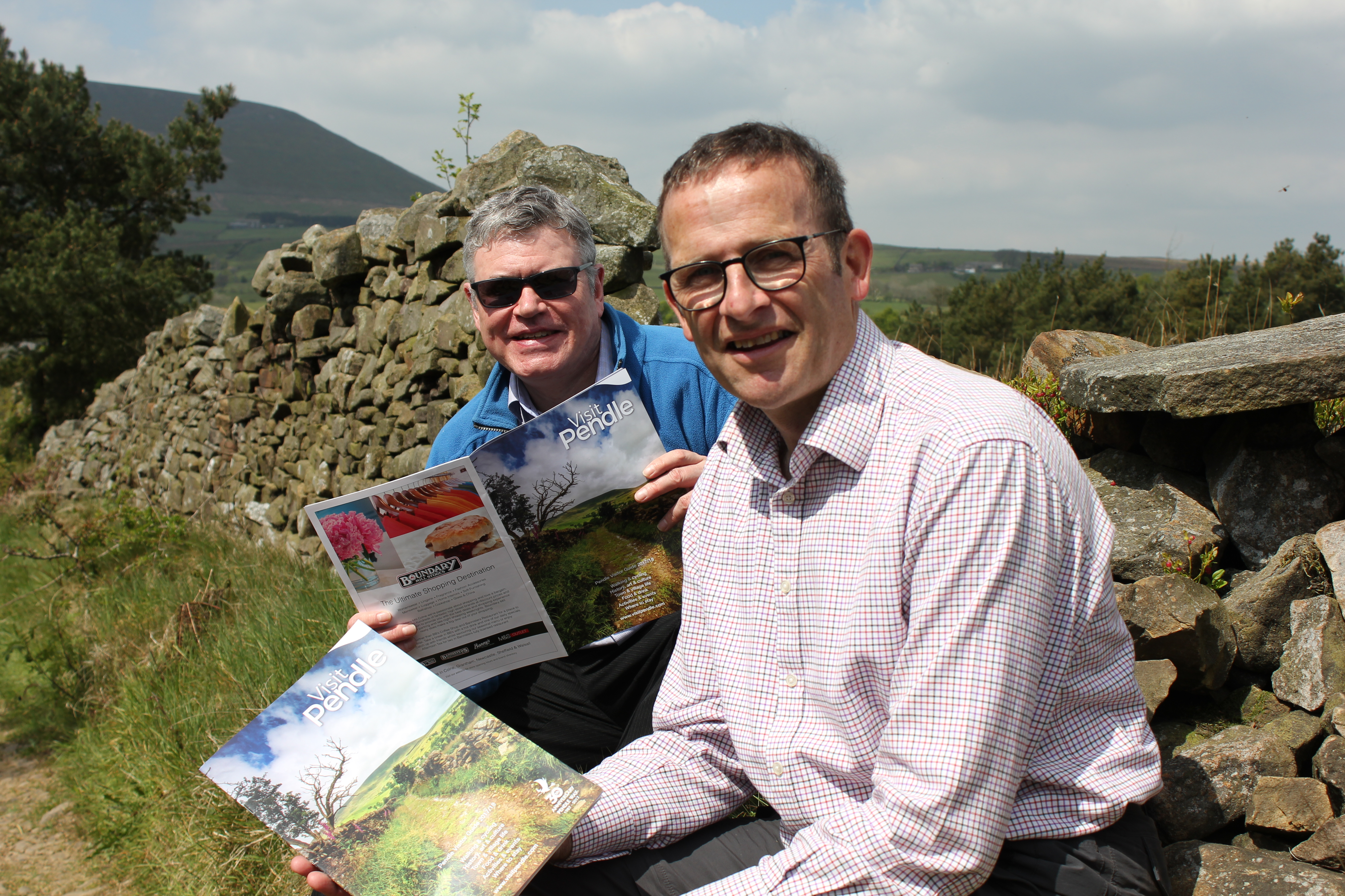 Two anniversaries to celebrate as inspiring Visit Pendle guide is launched