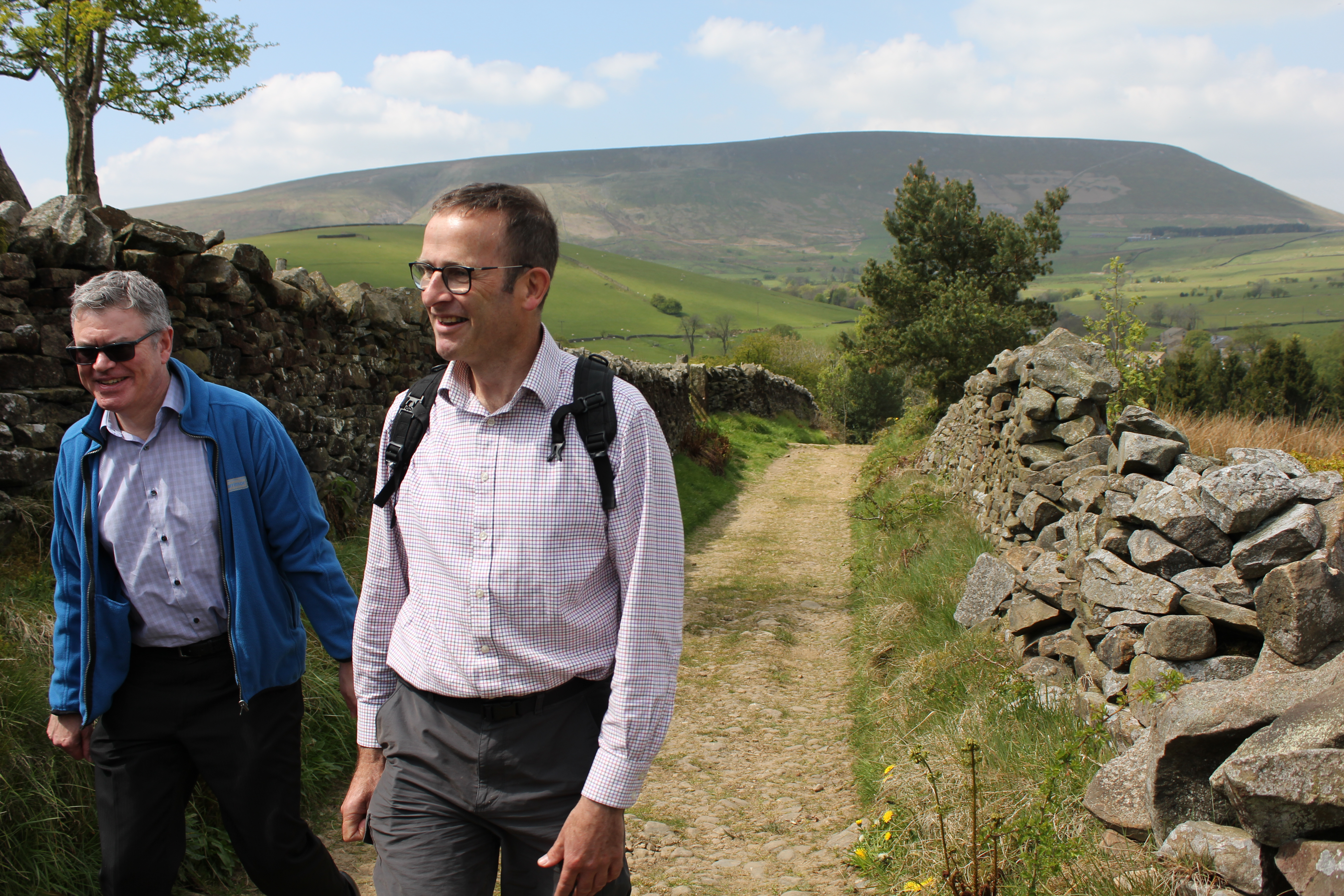 Walking in Pendle is amazing – it's crystal clear!