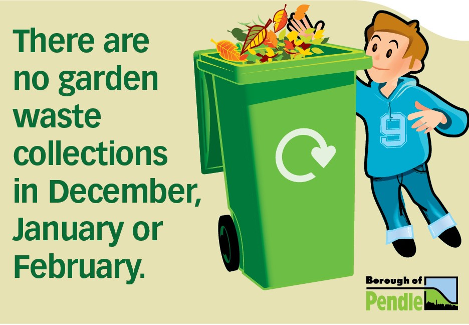 Pendle gardeners reminded - no garden waste collections over winter