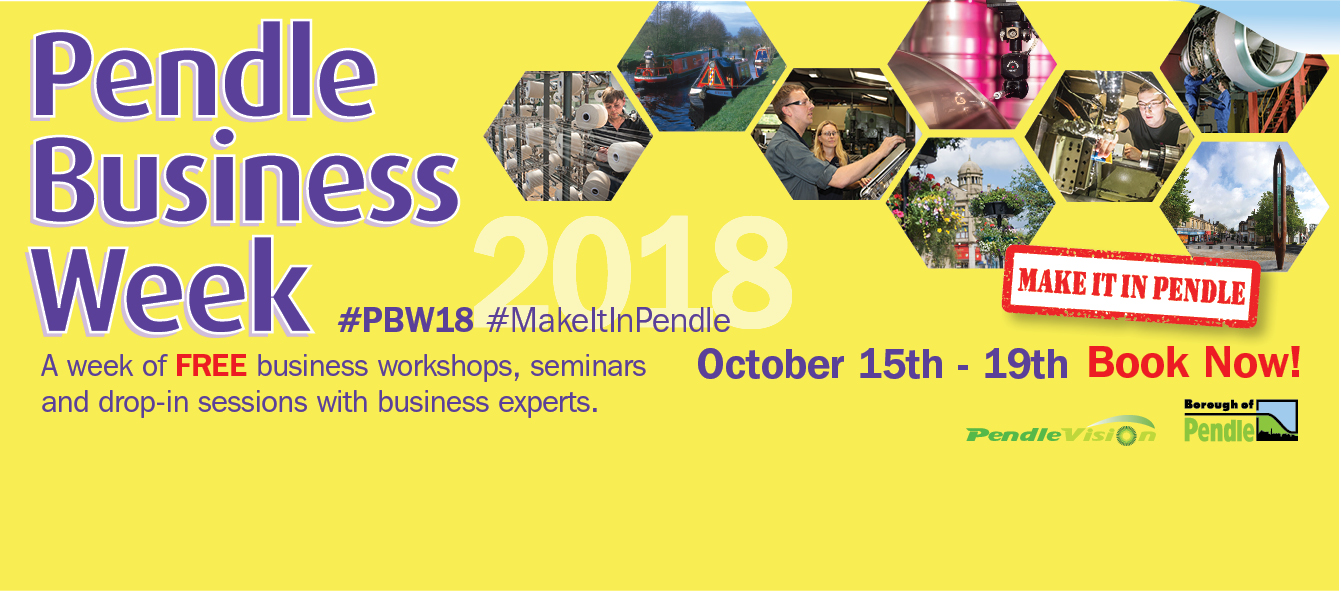 Coming soon - Pendle Business Week 2018!