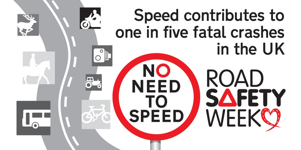 Pendle Community Safety Partnership joins road safety charity in shouting out there is no need to speed!