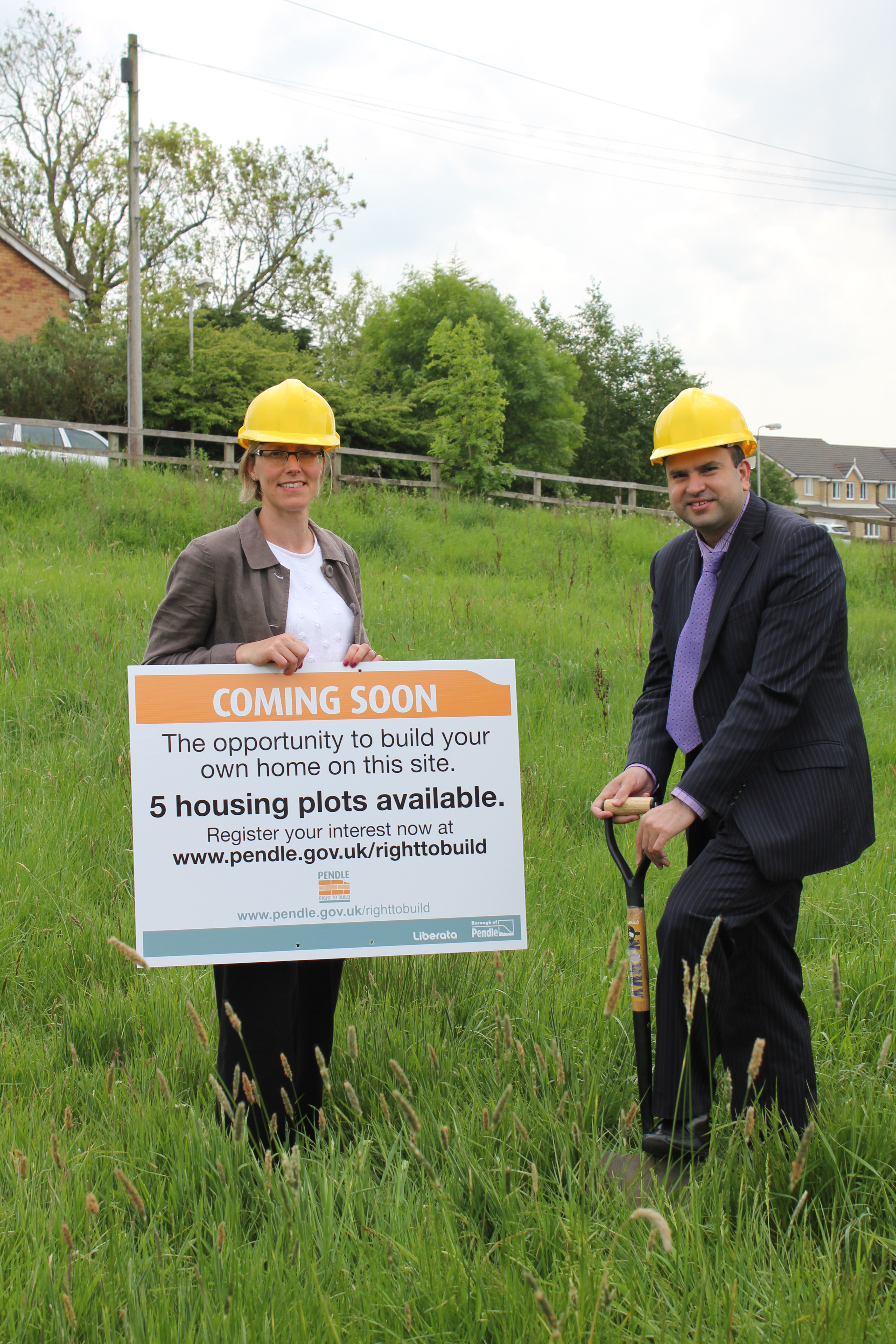 Want to build your own home in Pendle?