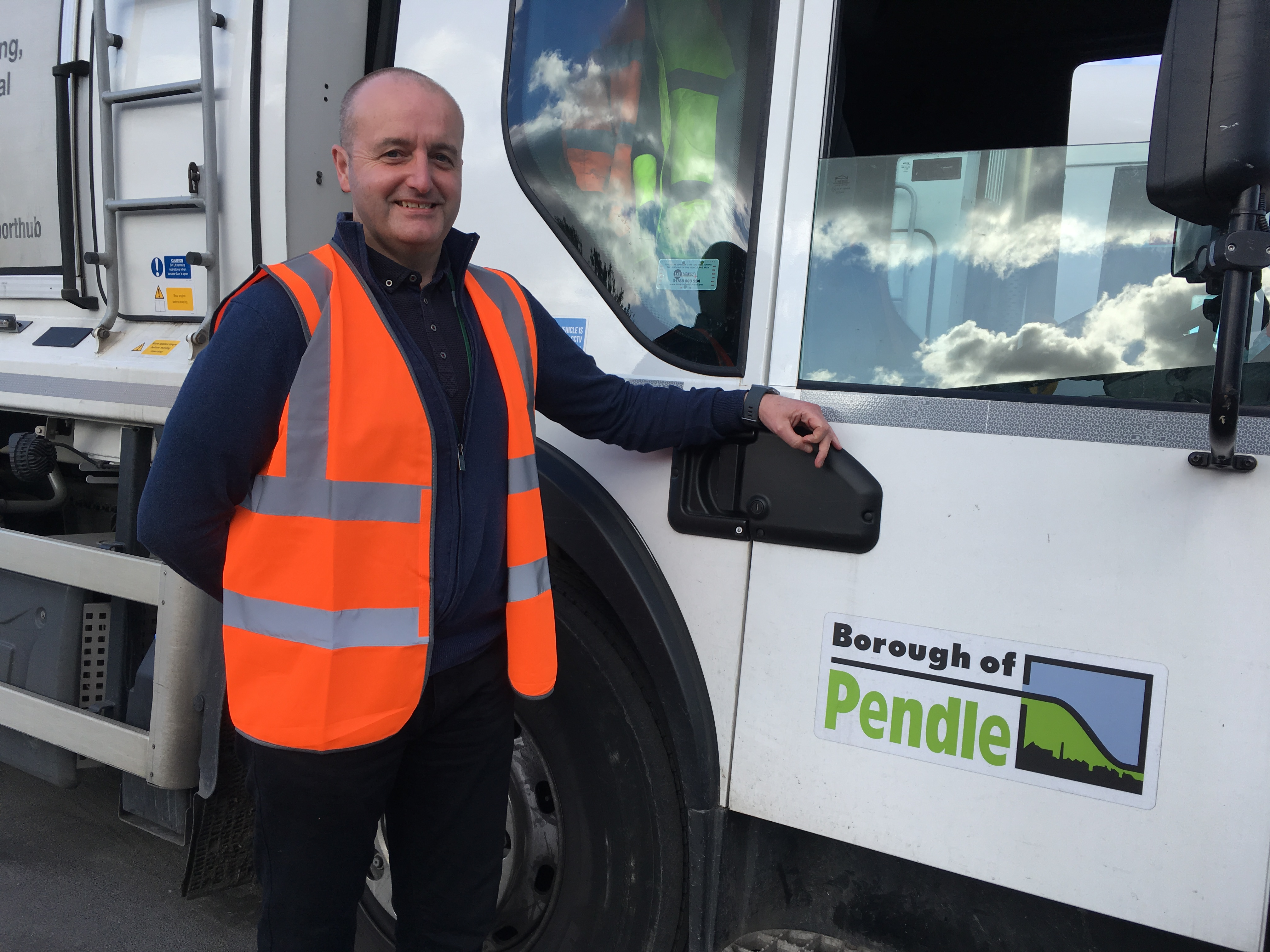 Eco fuel for Pendle's bin wagons and street sweepers