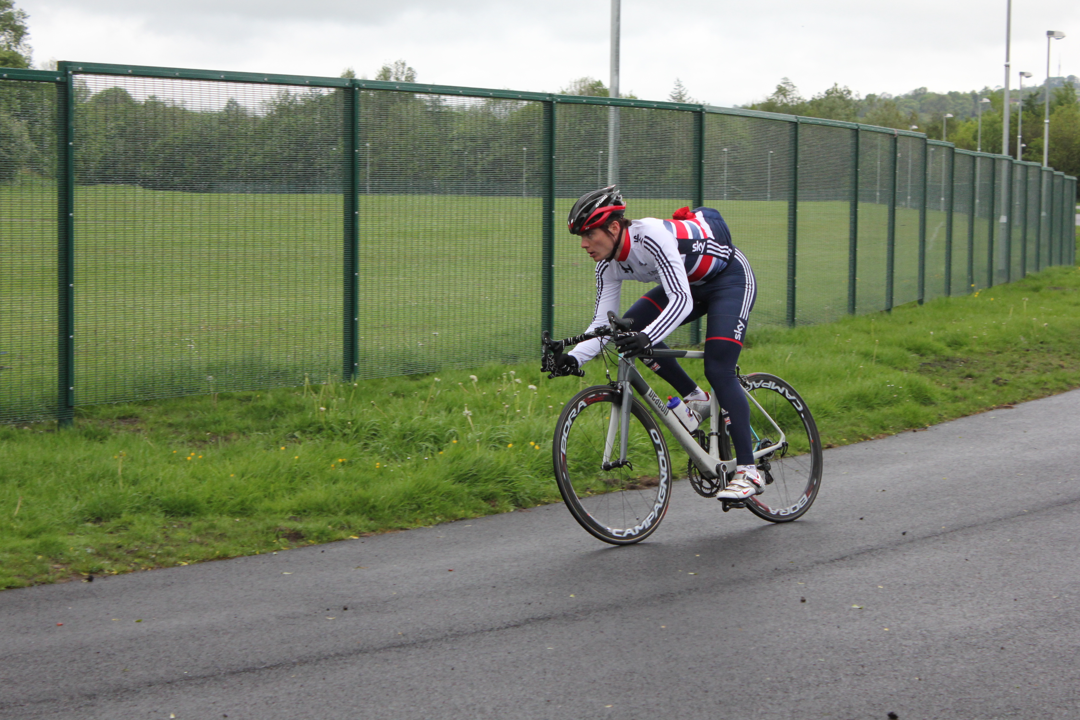 Olympic medallist & Pedal Pendle Festival at the Steven Burke Spor..