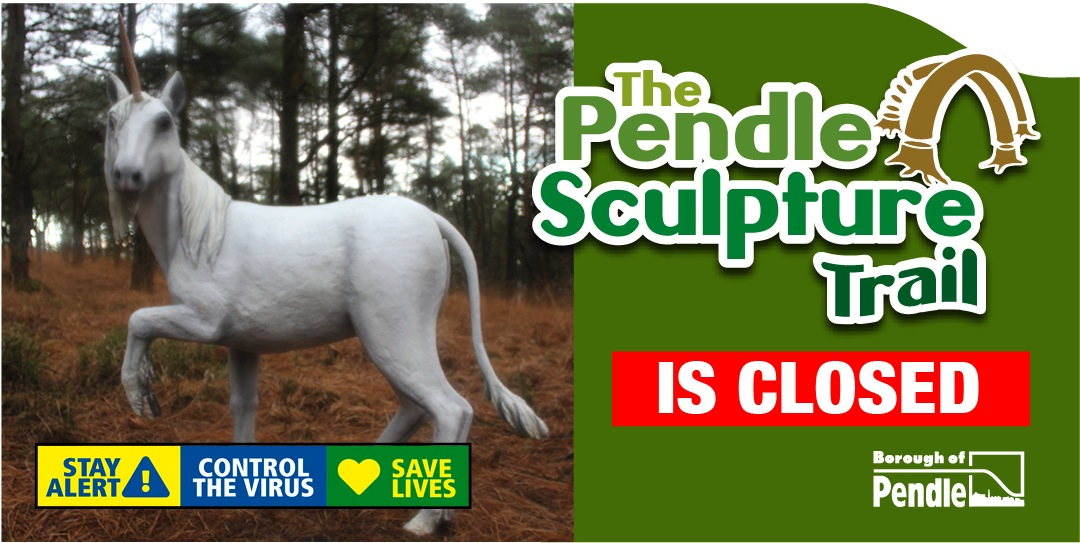 Please don't visit The Pendle Sculpture Trail – it's closed!