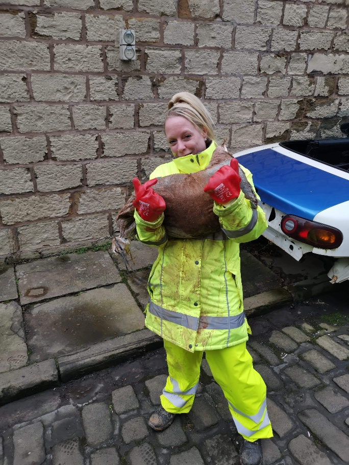 Storm Ciara brings flooding to Pendle