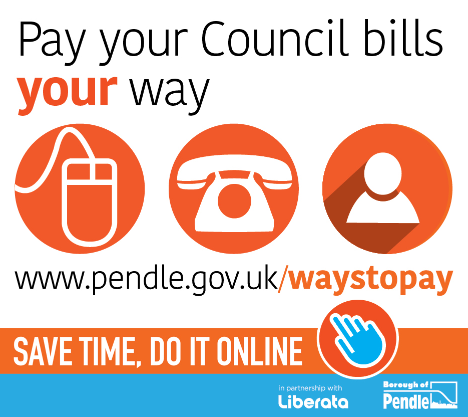 Pendle Council reminds residents of changes to its services