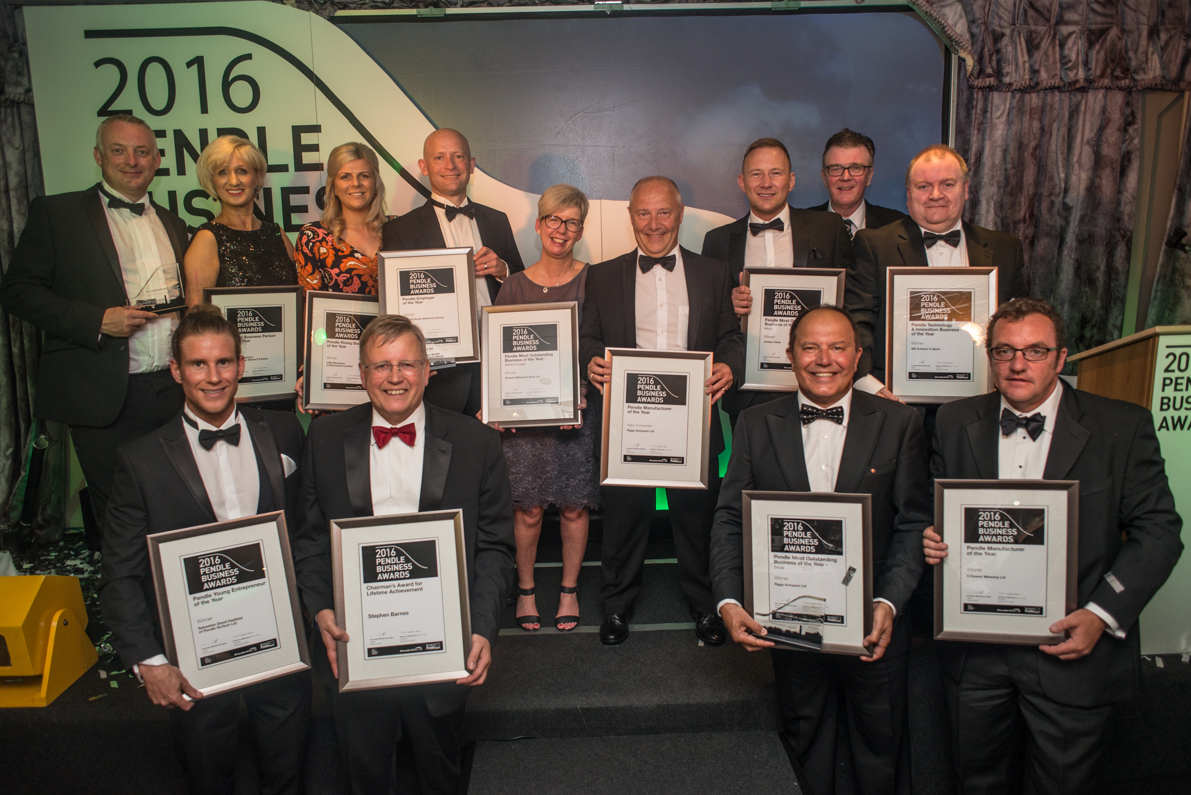 Pendle Business Awards 2016 reveals its winners!