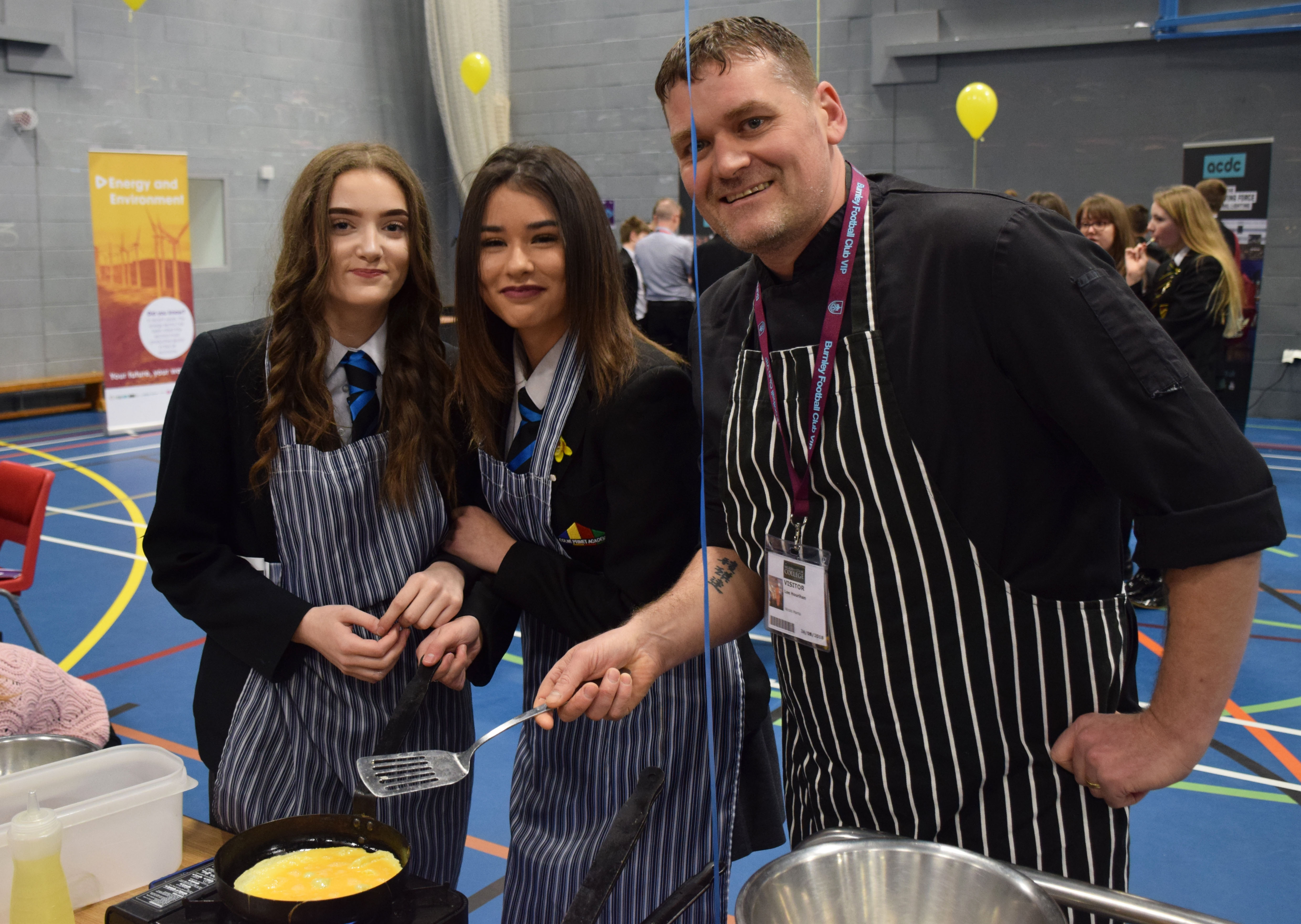 Pendle businesses showcase local careers