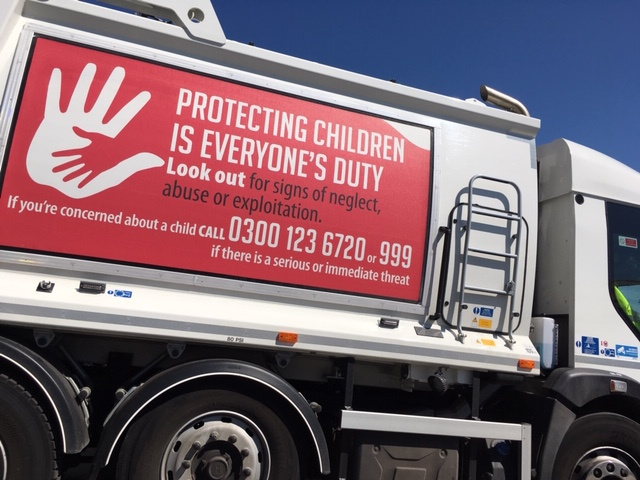 Bin wagons rolling out vital protection messages