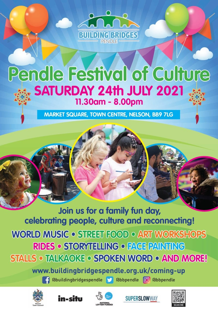 Join us at Pendle Festival of Culture!