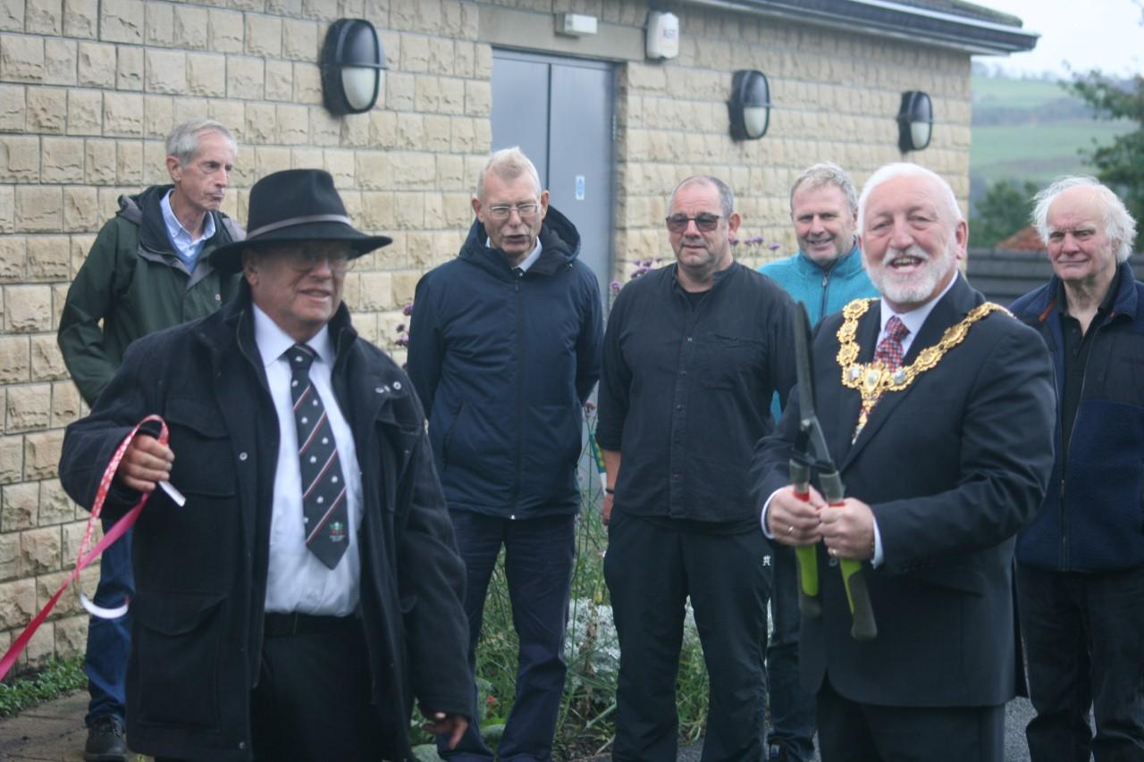 A new pocket park opens in Pendle!
