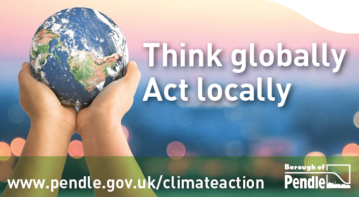 Launch of climate action grants for Pendle schools and community groups