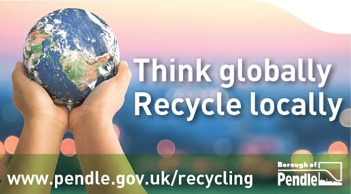 Think globally, recycle locally